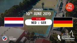 MHC TV – weibliche U16 – NED vs. GER – 10.06.2019 12:00 h