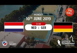 MHC TV – weibliche U16 – NED vs. GER – 10.06.2019 12:00 h
