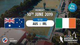 MHC TV – männliche U16 – IRL vs. AUS – 10.06.2019 10:30 h