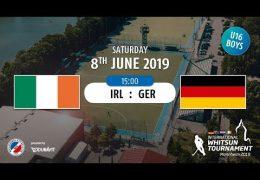 MHC TV – männliche U16 – GER vs. IRL – 08.06.2019 15:00 h