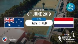 MHC TV – männliche U16 – AUS vs. NED – 08.06.2019 11:00 h