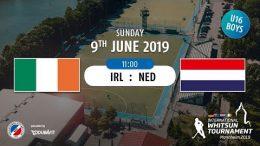 MHC TV – männliche U16 – IRL vs. NED – 09.06.2019 11:00 h