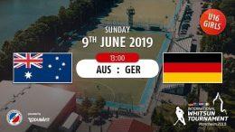 MHC TV – weibliche U16 – GER vs. AUS – 09.06.2019 13:00 h