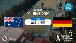 MHC TV – männliche U16 – GER vs. AUS – 09.06.2019 15:00 h