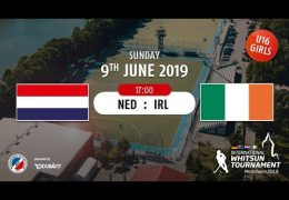 MHC TV – weibliche U16 – IRL vs. NED – 09.06.2019 17:00 h