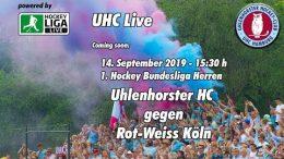 UHC Live – UHC vs. RWK – 14.09.2019 15:30 h