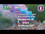 UHC Live – UHC vs. NHTC – 15.09.2019 13:00 h