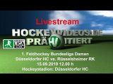 Hockeyvideos.de – DHC vs. RRK – 15.09.2019 12:00 h