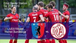 BHC Hockey-Bundesliga – BHC vs. DCADA – 21.09.2019 14:00 h