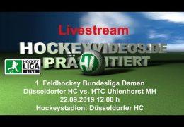 Hockeyvideos.de – DHC vs. HTCU – 22.09.2019 12:00 h