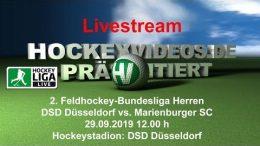 Hockeyvideos.de – DSD vs. MSC – 29.09.2019 12:00 h