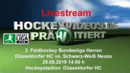 Hockeyvideos.de – DHC vs. SWN – 29.09.2019 14:00 h
