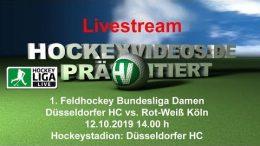 Hockeyvideos.de – DHC vs. RWK – 12.10.2019 14:00 h