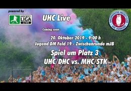 UHC Live – Jugend DM ZR – mJA – DHC vs. STK – 20.10.2019 09:00 h