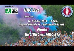 UHC Live – Jugend DM ZR – mJB – UHC vs. MHC – 20.10.2019 11:00 h