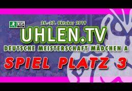 Uhlen.TV – Jugend DM – MA – Spiel um Platz 3 – CR vs. DHC- 27.10.2019 11:00 h