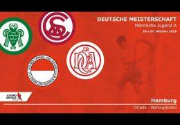 dCadA – Jugend DM – mJA – Spiel um Platz 3 – MSC vs. DCadA – 27.10.2019 11:00 h