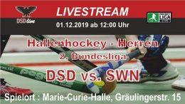 DSD-live – DSD vs. SWN – 01.12.2019 12:00 h