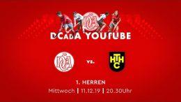 DCadA – DCadA vs. HTHC – 11.12.2019 20:30 h