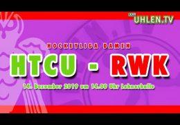 UHLEN.TV – HTCU vs. RWK – 14.12.2019 14:00 h