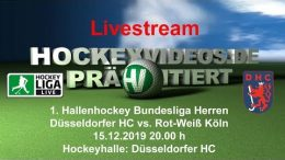 Hockeyvideos.de – DHC vs. RWK – 15.12.2019 20:00 h