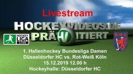 Hockeyvideos.de – DHC vs. RWK – 15.12.2019 12:00 h