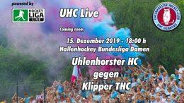UHC Live – UHC vs. Klipper – 15.12.2019 18:00 h