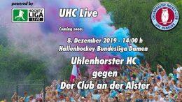 UHC Live – UHC vs. DCadA – 08.12.2019 14:00 h