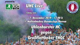 UHC Live – UHC vs. GTHGC – 07.12.2019 17:00 h