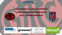 Hockey Plus TV – GHTC vs. DHC – 06.12.2019 20:00 h