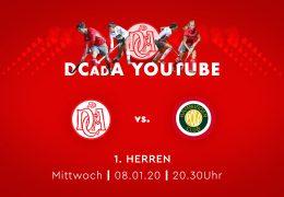 Der Club an der Alster – DCadA vs. HPC – 08.01.2020 20:30 h