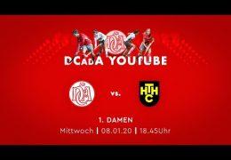 Der Club an der Alster – DCadA vs. HTHC – 08.01.2020 18:45 h