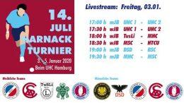 UHC Live – 14. Juli Harnack Turnier – wJB/mJB Freitag, 3. Januar 2020