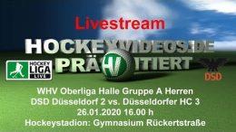 Hockeyvideos.de – DSD2 vs. DHC 3 – 26.01.2020 16:00 h