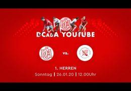 Der Club an der Alster – DCadA vs. DTV – 26.01.2020 12:00 h