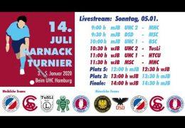 UHC Live – 14. Juli Harnack Turnier – wJB/mJB – Sonntag, 5. Januar 2020