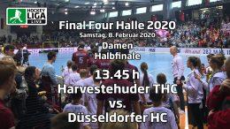 Final Four 2020 – 2. Halbfinale Damen – HTHC vs. DHC – 08.02.2020 13:45 h