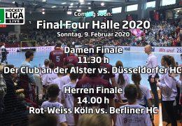 Final Four – Finalspiele – Deutsche-Hallenhockey-Meisterschaft 2020 – 09.02.2020 ab 11:30 h