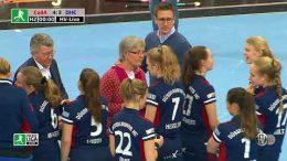 Hockeyvideos.de – Highlights – DM Halle Damen Stuttgart 2020 Herren – Siegerehrung Damen – 09.02.2020 13:00 h