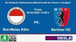 Hockeyvideos.de – Highlights – DM Halle Herren Stuttgart 2020 Herren – RWK vs. BHC – 09.02.2020 14:00 h