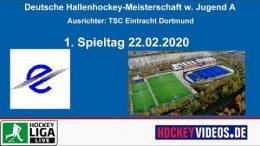 sportdeutschland.tv – Jugend DM wJA – Vorrunde – 22.02.2020 10:00 h