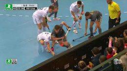 Hockeyvideos.de – Highlights – DM Halle Herren Stuttgart 2020 Herren – CadA vs. RWK – 08.02.2020 16:00 h