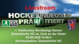 Hockeyvideos.de – DHC vs. CadA – 05.09.2020 14:00 h