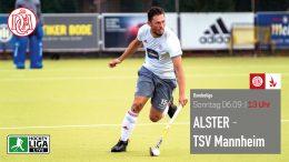 Der Club an der Alster – DCadA vs. TSVM – 06.09.2020 13:00 h