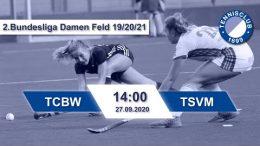 TC 1899 e.V. Blau-Weiss – TCBW vs. TSVM – 27.09.2020 14:00 h
