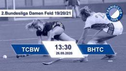 TC 1899 e.V. Blau-Weiss – TCBW vs. BHTC – 26.09.2020 13:30 h