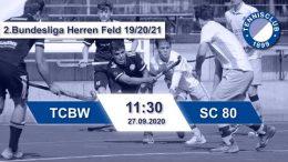 TC 1899 e.V. Blau-Weiss – TCBW vs. SC 80 – 27.09.2020 11:30 h