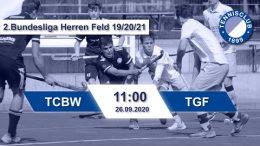 TC 1899 e.V. Blau-Weiss – TCBW vs. TGF – 26.09.2020 11:00 h