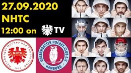 NHTC TV – NHTC vs. UHC – 27.09.2020 12:00 h