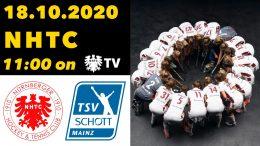 NHTC TV – NHTC vs. TSVSM – 18.10.2020 11:00 h